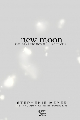 Scans da prévia do Twilight 'New Moon' graphic novel