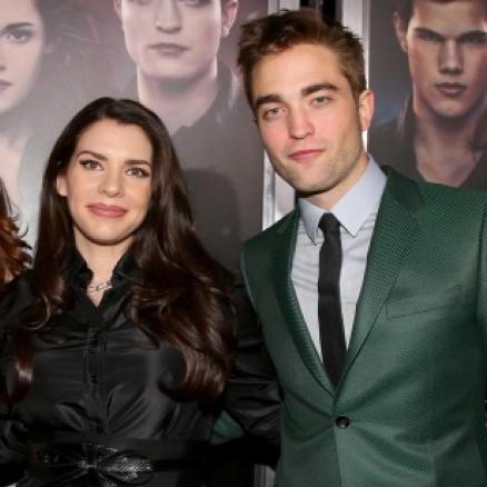 Stephenie Meyer fala sobre Robert Pattinson