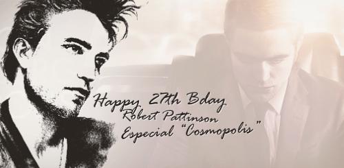 Especial do 27º Aniversário de Robert Pattinson: COSMOPOLIS