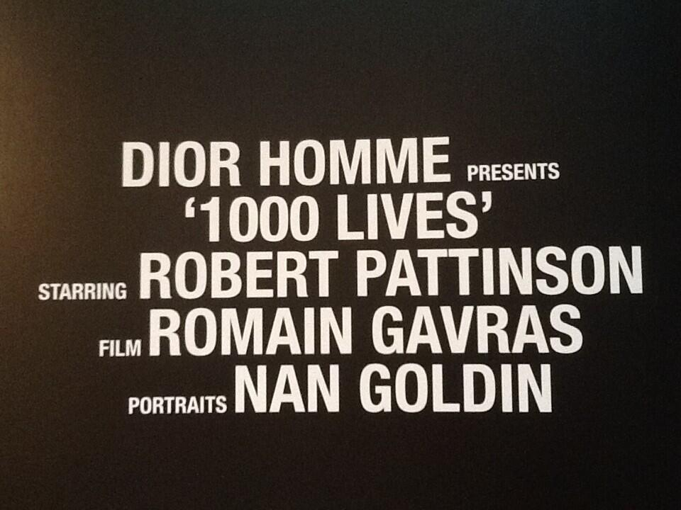 Mais informações e primeiras imagens de Robert Pattinson para a Dior Homme Fragrance