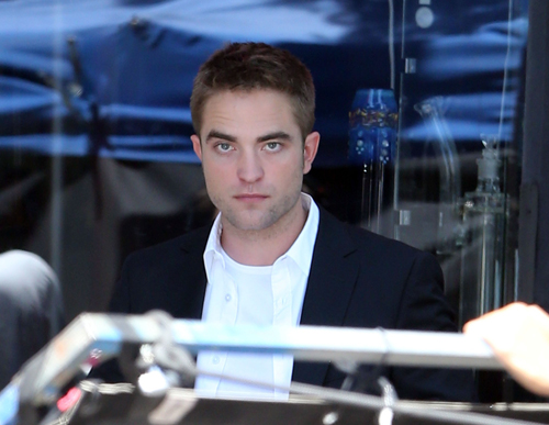 Fotos: Robert Pattinson gravando 'Maps To The Stars'