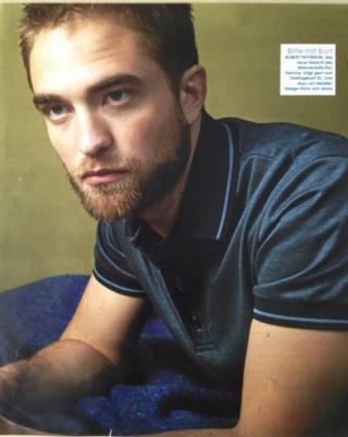 """""""Eu não tenho governanta e não arrumo a minha cama"""" diz Rob em entrevista à Marie Claire da Itália"""