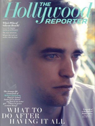 Robert Pattinson em entrevista ao The Hollywood Reporter