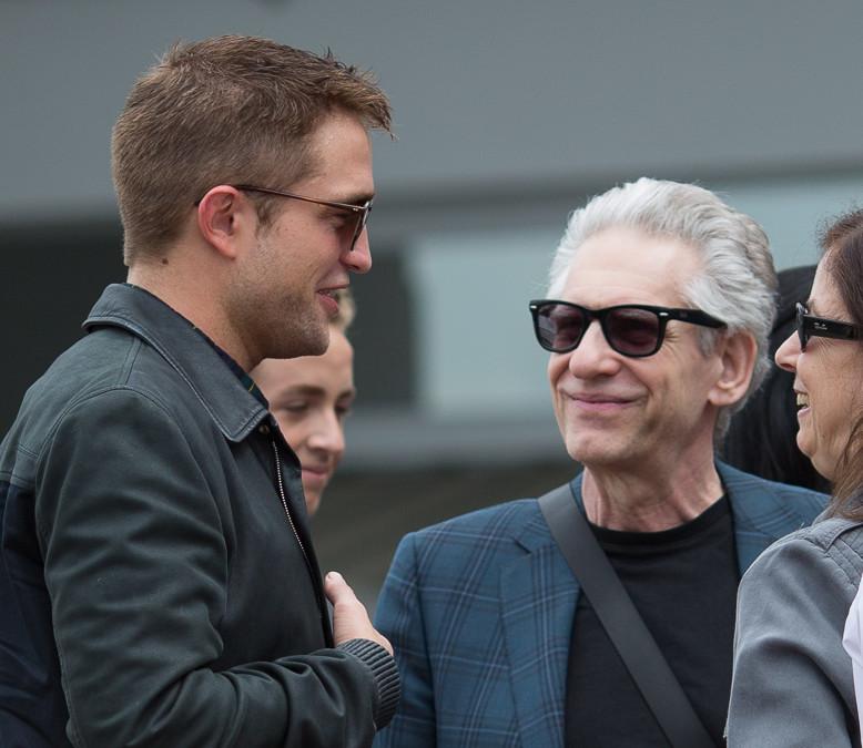 Robert Pattinson e David Cronenberg em entrevista para rádio francesa