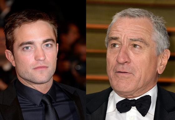 Robert De Niro estará em próximo filme com Robert Pattinson