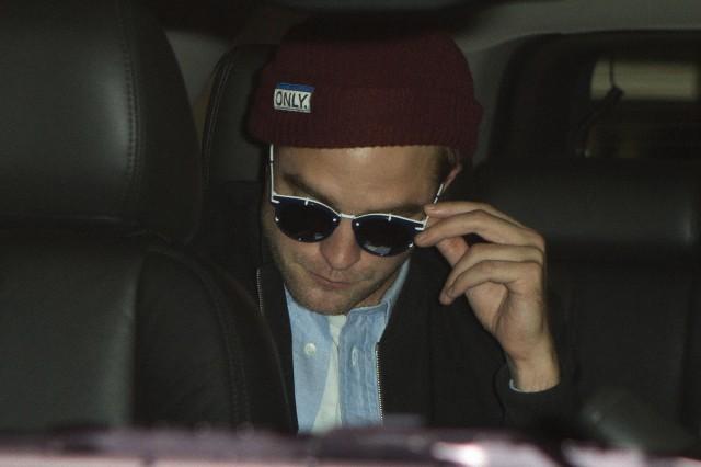 Robert Pattinson está de volta à Los Angeles