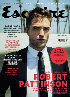 Robert Pattinson para a revista Esquire: Fotos + Entrevista traduzida