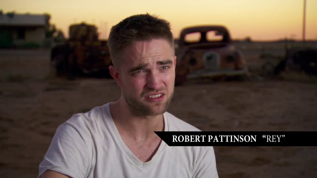 Vídeo legendado: Robert nos bastidores de gravação de The Rover