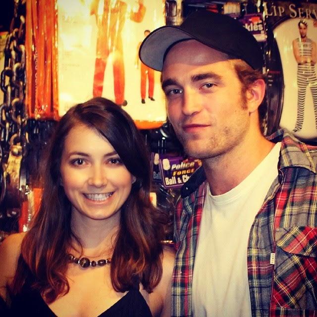 Nova foto de Robert em NYC em Agosto