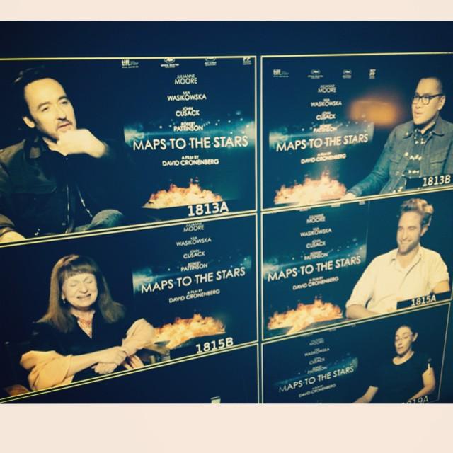 Entrevista legendada: Robert Pattinson e John Cusack falam sobre Mapa para as Estrelas
