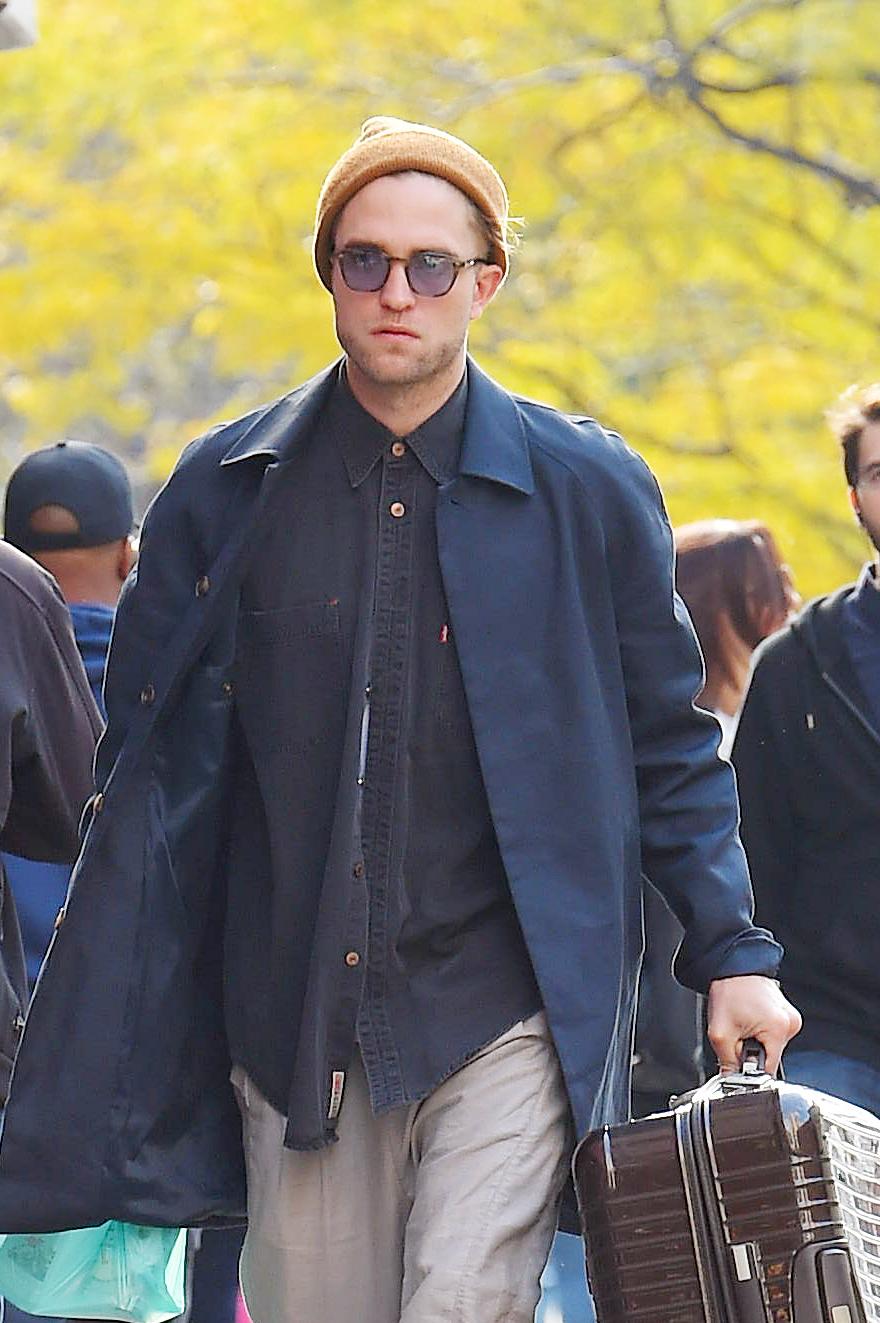 Fotos de Robert e FKA Twigs em Nova York (11/11)