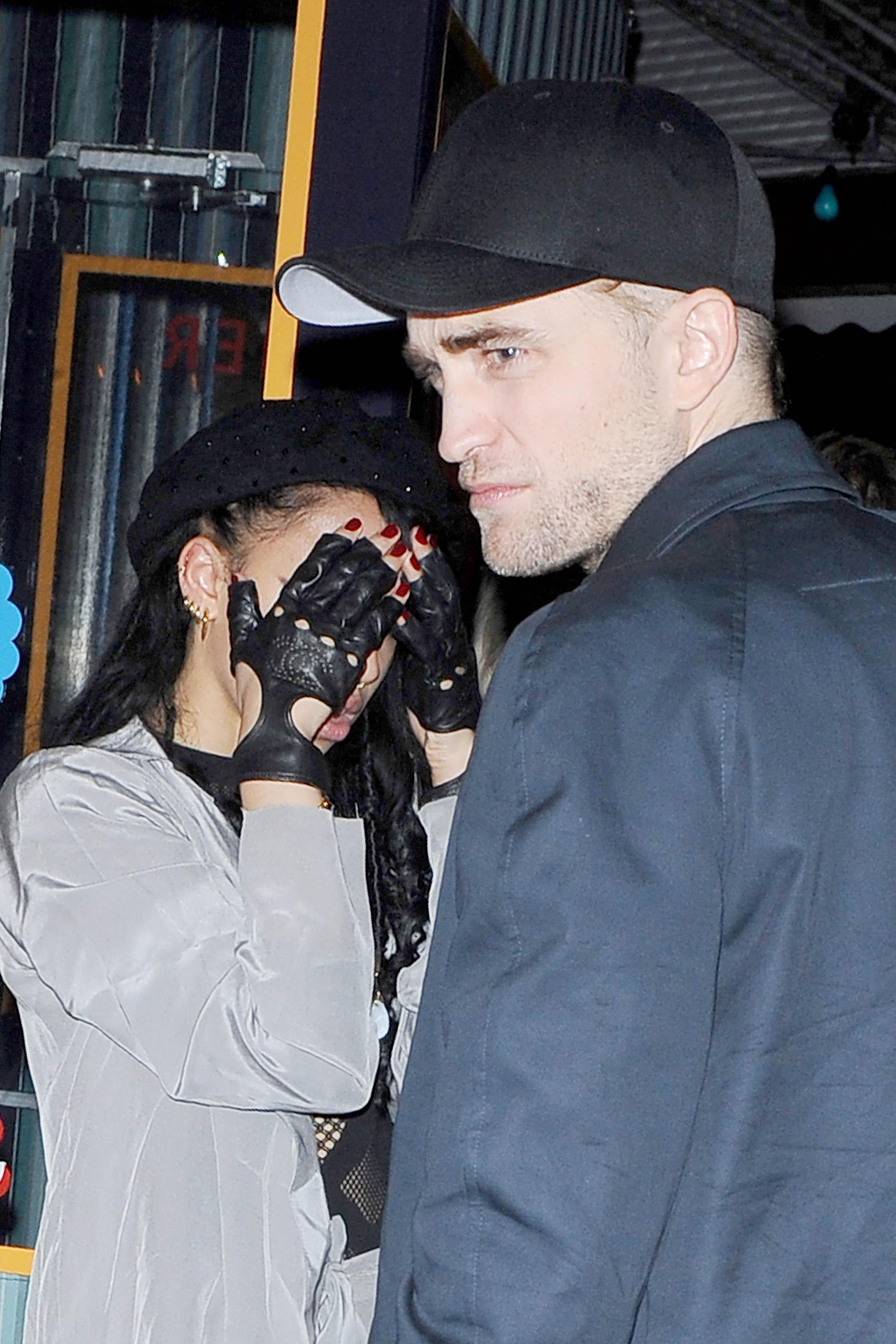 Fotos de Robert e FKA Twigs em Nova York (10 e 11/11)