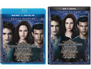 Summit Entertainment anuncia novo DVD triplo da Saga Crepúsculo