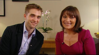 A jornalista Lorraine Kelly fala sobre entrevista com Robert