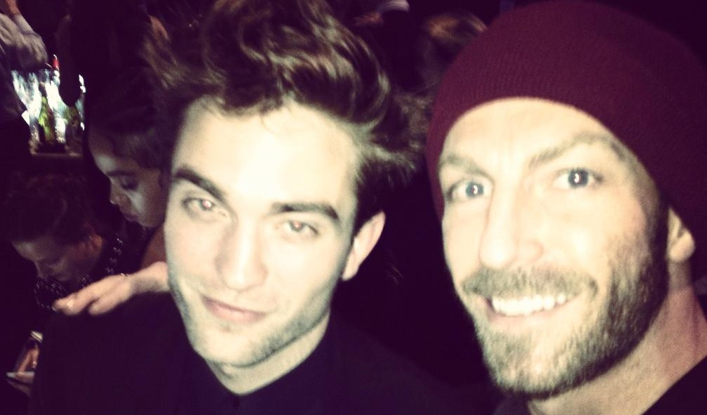 Fotos de Robert no Brit Awards (25/02)