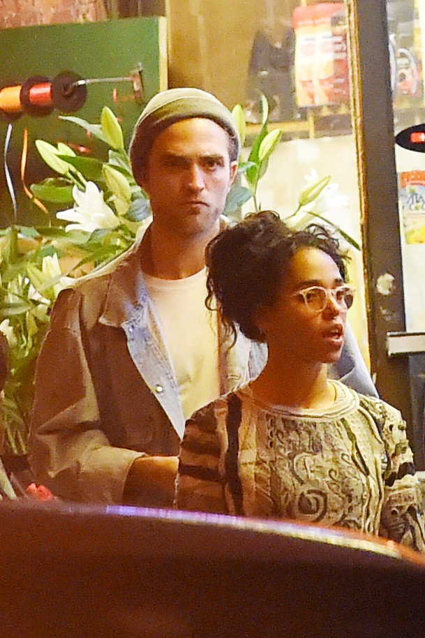 Robert Pattinson, FKA Twigs e Jamie Strachan em Nova York (12/05)