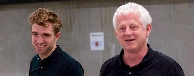 Robert em campanha para o Red Nose Day