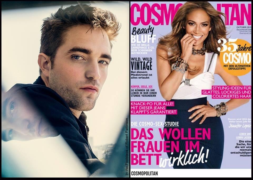 Nova entrevista: Robert fala sobre sucesso e fama para Cosmopolitan da Alemanha!