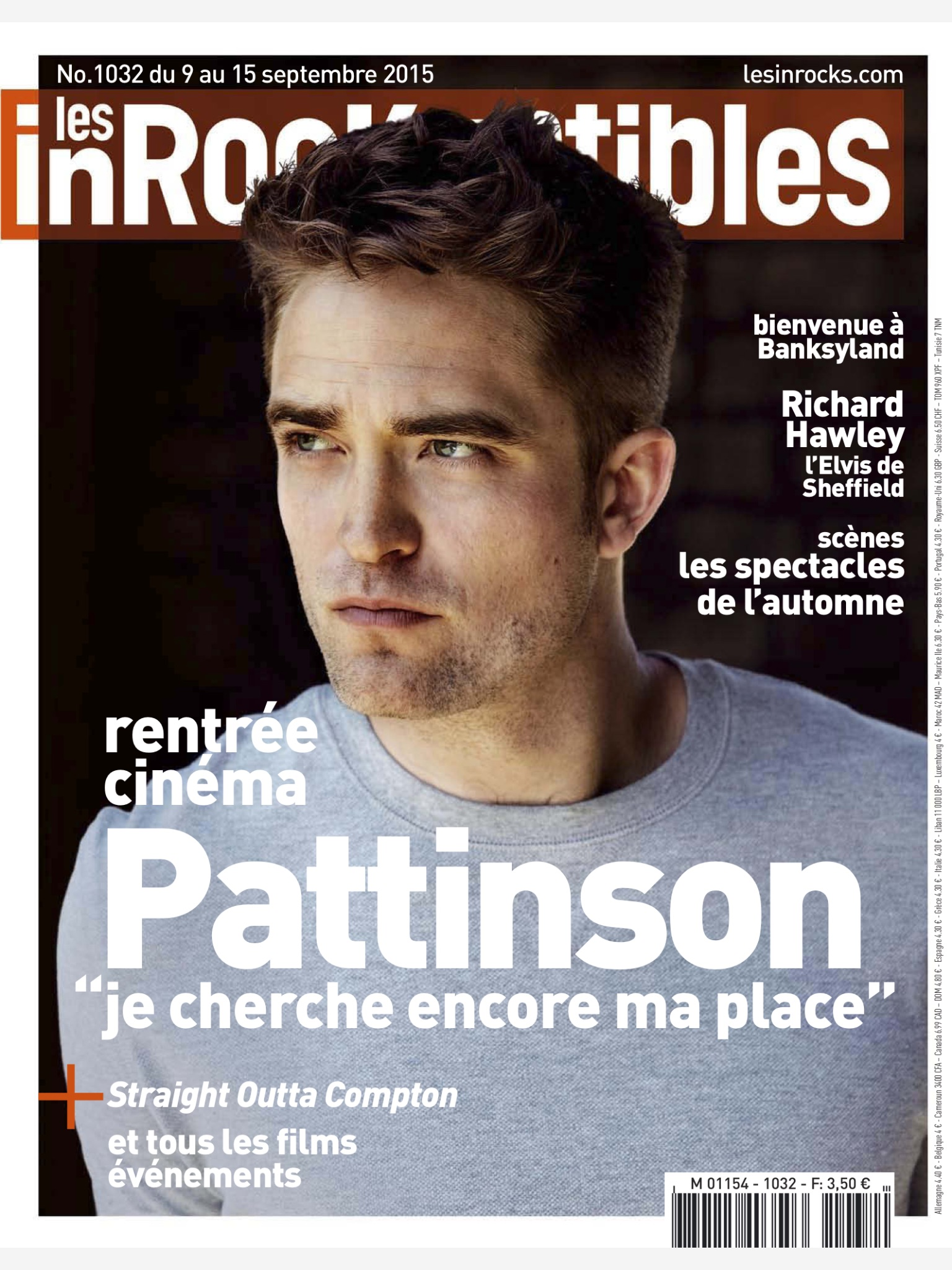 """""""Às vezes eu preciso ouvir que eu não estou cometendo erros, de que eu sou legítimo."""", Robert para 'Les Inrocks'"""