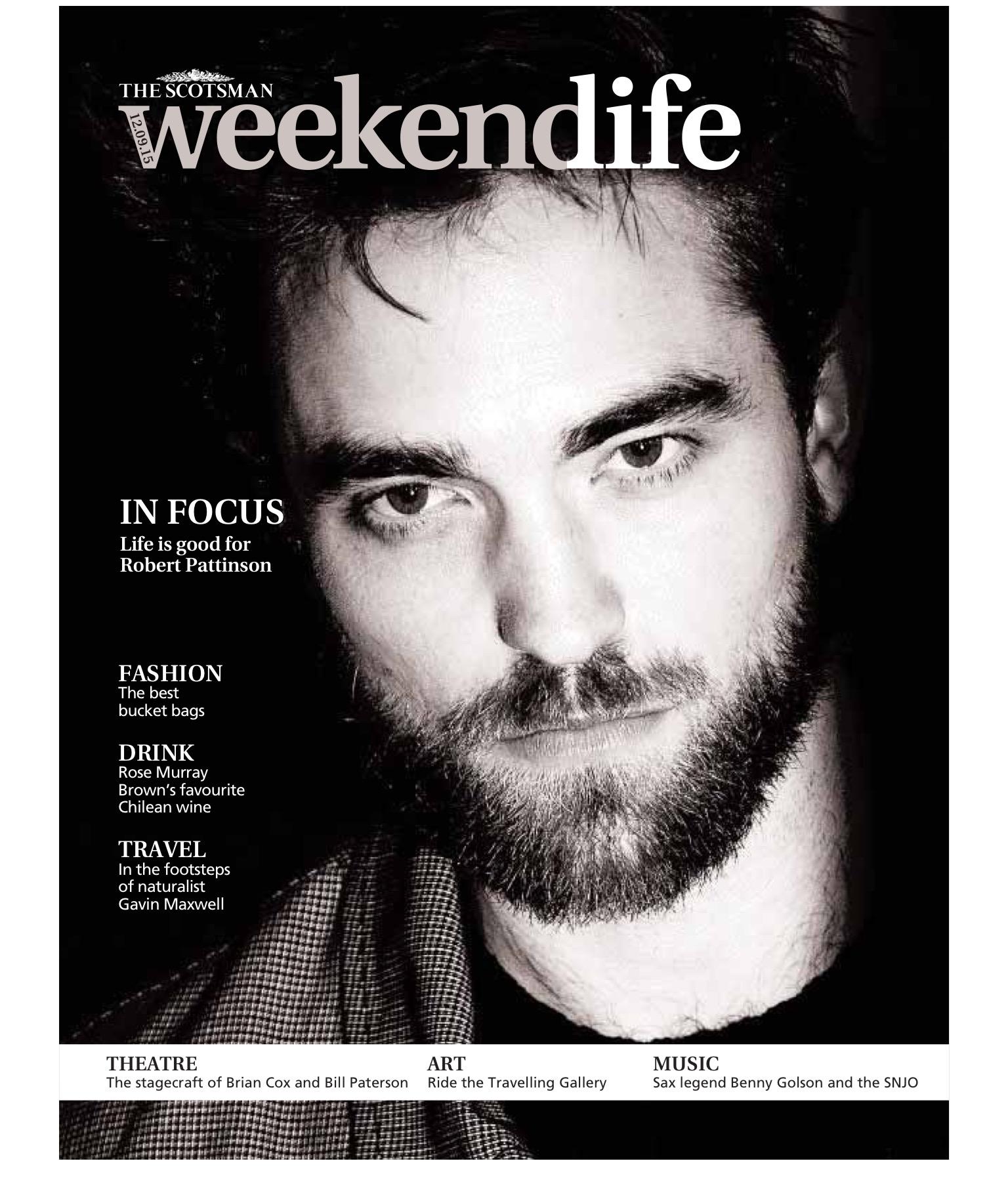 Robert fala sobre seu novo filme e relação com os fotógrafos para a The Scotsman