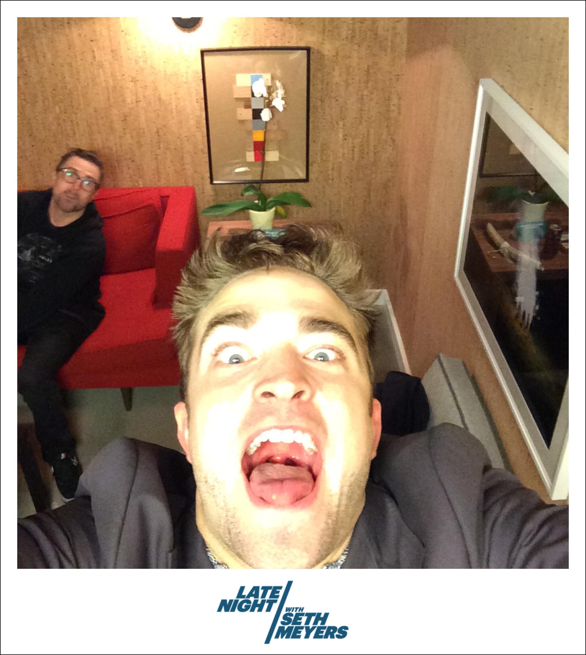 """""""Eu não tenho um rosto para selfie"""" – diz Robert para a Deutschlandfunk"""
