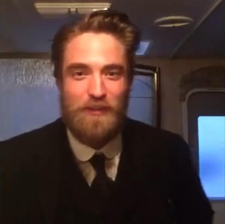 TRANSCRITO: Robert envia mensagem para o Deauville Film Festival