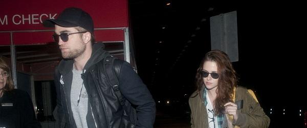 FOTOS: Robert com Kristen Stewart no aeroporto de New York em 2012