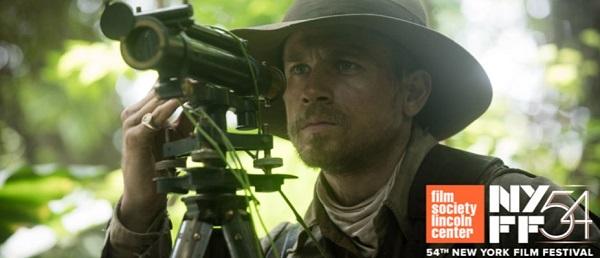 The Lost City Of Z foi escolhido para encerrar o 54º New York Film Festival em Outubro