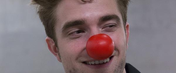 FOTOS: Robert nos bastidores da campanha para o Red Nose Day