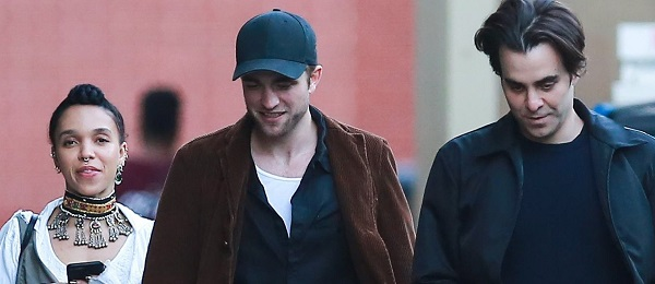 FOTOS: Robert Pattinson comemorando seu aniversário com amigos (13/05)
