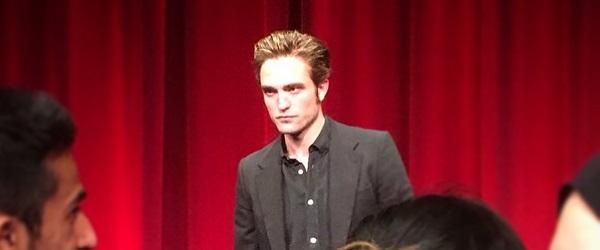 FOTOS: Robert no Q&A de Good Time na Academia de Artes e Ciências Cinematográficas em Los Angeles (06/08)