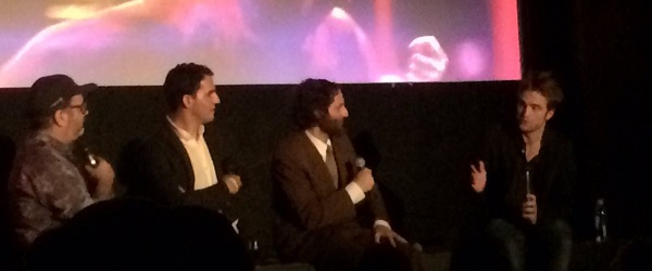 FOTOS & VIDEOS: Robert e irmãos Safdie no Q&A de Good Time no CineFamily em Los Angeles (03/08)