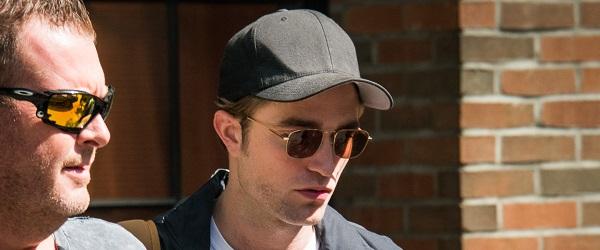 FOTOS: Robert deixando seu hotel em Nova York (13/08)