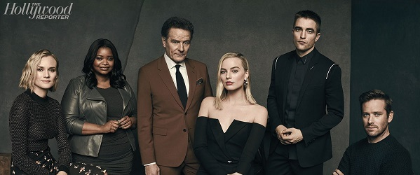 FOTOS: Robert na mesa redonda com outras celebridades para o The Hollywood Reporter