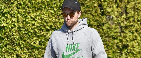 FOTOS: Robert em Los Angeles em Janeiro