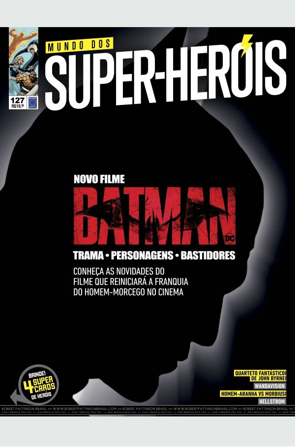 The Batman é capa da revista Mundo dos Super-Herois!