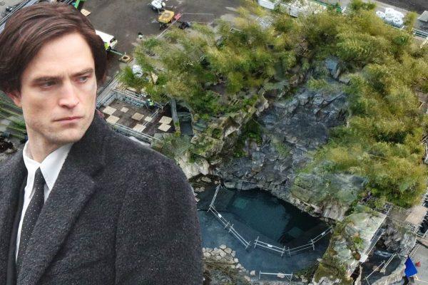 Primeiras imagens da Bat-Caverna?