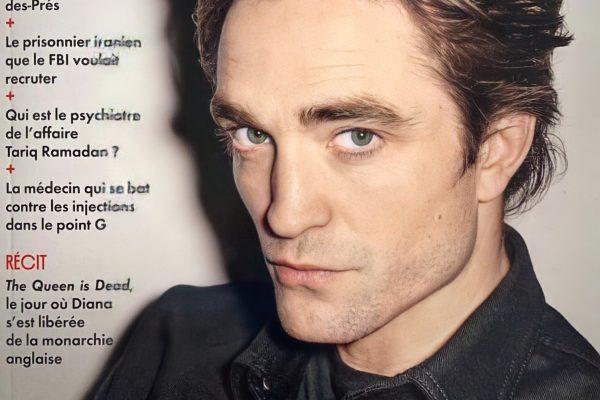 Robert na Capa da Vanity Fair da França