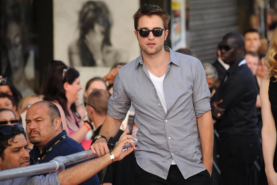 Robert na lista das 30 pessoas mais sexys da revista People