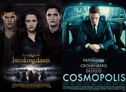 """Amanhecer Parte 2″ e ""Cosmopolis"" no At The Movies : Top 100 filmes de 2012"