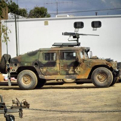 Novas fotos do set de The Rover