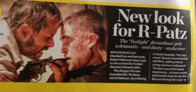 David Michôd menciona Robert e The Rover na Who Magazine