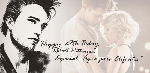 Especial do 27º Aniversário de Robert Pattinson: ÁGUA PARA ELEFANTES