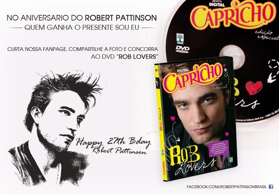 No 27º aniversário do Robert Pattinson o presente é seu! – RESULTADO!