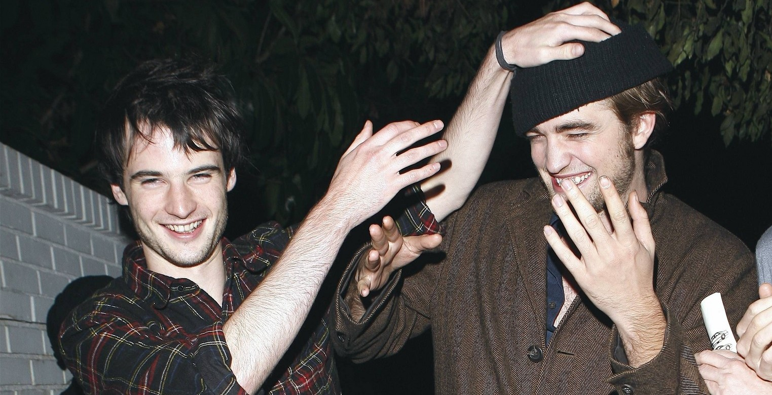 Twilight star Robert Pattinson celebrates the success of Twilight at Chateau Marmont at midnight with friends and beer  Nov 24, 2008 X17online.com exclusive