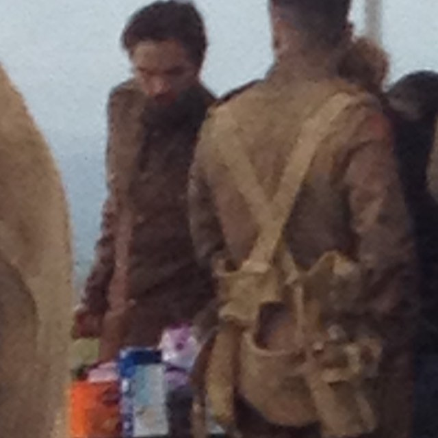 (18.09) no set gravando THE LOST CITY OF Z