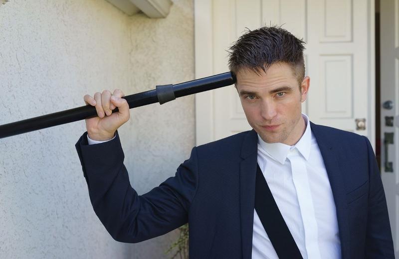 """Fotos de Robert Pattinson em novo ensaio para a revista """"Crash"""""""