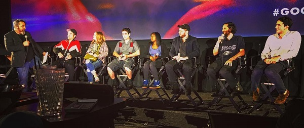 FOTOS: Q&A de Good Time no Alamo Drafthouse Cinema em Nova York (09/08)