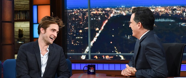 FOTOS: Robert no The Late Show with Stephen Colbert