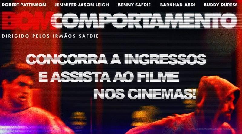 QUER GANHAR INGRESSOS PARA ASSISTIR AO FILME 'BOM COMPORTAMENTO' NO CINEMA? VEM COM A GENTE!